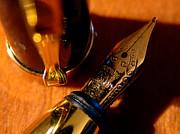 The Fountain Pen Print by Alessandro Della Pietra