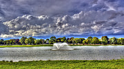 Tim Buisman Metal Prints - The Fountain Metal Print by Tim Buisman