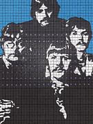 Beatles Photos - The Four Beatles by Robert Margetts