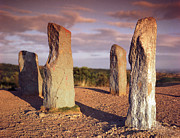 William R Hart - The Four Stones at Clent...