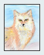 Cathy Turner - The Fox at winter time