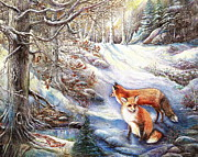 Patricia Schneider Mitchell - The Foxes of Panel Mine...