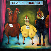 Leah Saulnier The Painting Maniac - The Freaky Chicken Competition