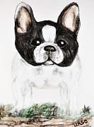 The Frenchton Print by Maria Urso