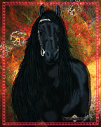 (zazzle) Digital Art - The Friesian by Graphicsite Luzern