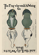 Paper Dolls Posters - The Frog who Would A Wooing Go M. A. Glen Magic Changelings Poster by Pierpont Bay Archives