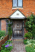 Country Cottage Photos - The Front Door by James Brunker
