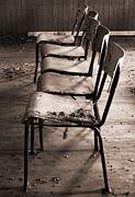 Empty Chairs Prints - The Frontline Print by Jerry Cordeiro