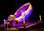 Amusements Prints - The Fun Fair 2 Print by Ian Hufton