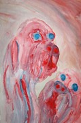 Response Paintings - The future is pink by Hilde Widerberg