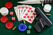 Board Game Photos - The Gambler by Paul Ward