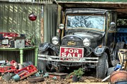 Street Rod Art - The Garage Sale by JC Findley