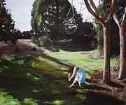 The Ballet Painting Originals - The Garden by Cherise Foster