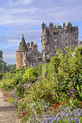 Fantasy Photos - The Garden of Glamis Castle by Jason Politte
