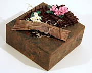 Polymer Clay Sculpture Originals - The Garden by P Russell