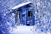 Debra Vronch Metal Prints - The Garden Shed Metal Print by Debra Vronch