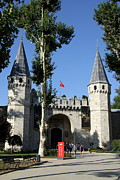 Salutation Framed Prints - The Gate of Salutation - Topkapi Palace Framed Print by Christiane Schulze