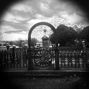 Holga Camera Prints - The Gate Print by Paul Anderson