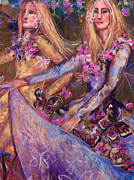 Spring Dresses Prints - The Gathering Print by Kimberly Van Rossum