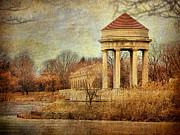 Gazebo Wall Art Prints - The Gazebo Print by Glenn Anderson