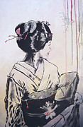 Vox Prints - The Geisha Print by Michael Leporati