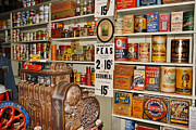 Valuable Prints - The General Store in 1864 Print by Janice Rae Pariza