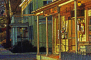 Wick Prints - The General Store Print by Skip Willits