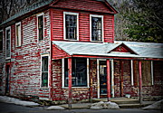 Historic Country Store Posters - The General Store Poster by Tricia Marchlik