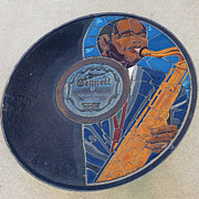 Saxophone Photos - The Gennett Walk of Fame - Coleman Hawkins by Natasha Marco