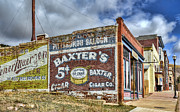 Ghost Signs Prints - The Ghost Town of Victor Colorado Print by Ken Smith