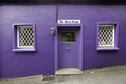 Entrance Door Framed Prints - The Giants Cottage in Kinsale Framed Print by Ruben Vicente