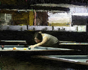 9 Ball Photos - The Girl by Frederick Kenney