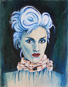 Newbrow Painting Originals - The Girl With No Doubt by Patrushka