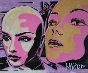 Graffiti Painting Posters - The Girls Poster by NAROw