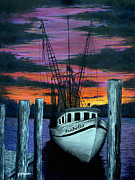 Fripp Prints - The Gloaming Print by Jeff McJunkin