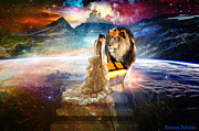 Lion Of Judah Posters - The Glory Season Poster by Dolores DeVelde