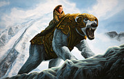 Elliott Prints - The Golden Compass  Print by Paul  Meijering