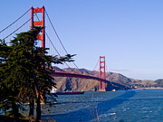 National Recreation Areas Prints - The Golden Gate Print by Bill Gallagher