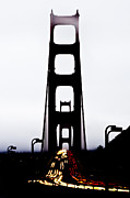 All Prints - The Golden Gate Bridge Print by Shayne Skower