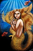 Saranya Haridasan - The Golden Mermaid