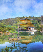 Asian Culture Prints - The Golden Pavilion Print by Juli Scalzi