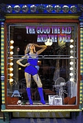 The Good Bad And Ugly Print by Bruce Bain