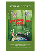 Dragon Fly Mixed Media Posters - The Good Bug Book Poster Poster by Paul Calabrese