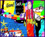 Good Luck Digital Art Posters - The Good Fairy Poster by Dreja Novak