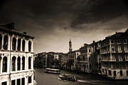Venice Photos - The Grand Canal by Aaron S Bedell