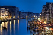 Street Photography Pyrography - The Grand Canal by Andrea Bresciani