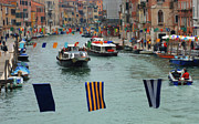 Venice Tour Posters - The Grand Canal Venice Poster by Bob Christopher