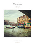 Famous Photographers Originals - The Grand Canal Venice by Massimo Conti