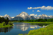 Frank Houck - The Grand Tetons-Snake...