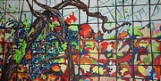 Vine Paintings - The Grapevine by Esther Newman-Cohen